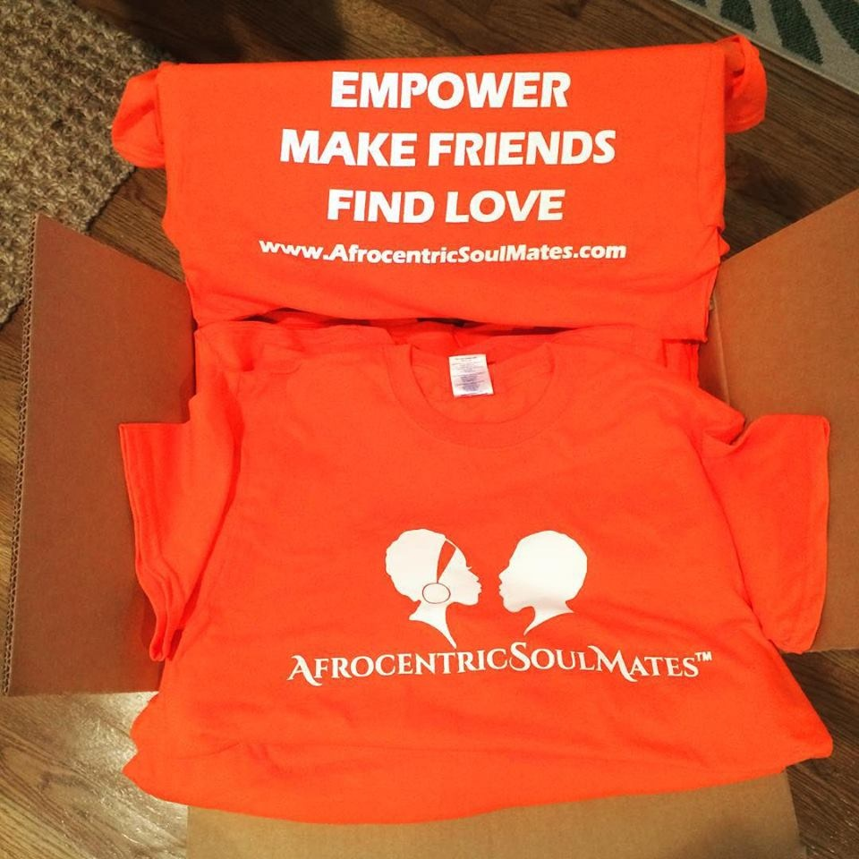Afrocentric SoulMates T-Shirts